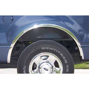 Auto Reflections   Fender Trim   04-12 Ford F-150   11101-Chrome-Fender-Trim