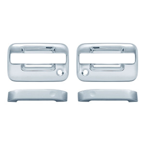 Auto Reflections   Door Handle Covers and Trim   04-14 Ford F-150   11105-f-150-Chrome-Door-Handle-Covers
