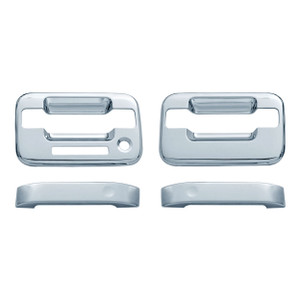 Auto Reflections   Door Handle Covers and Trim   04 Ford F-150   11105K-f-150-Chrome-Door-Handle-Covers