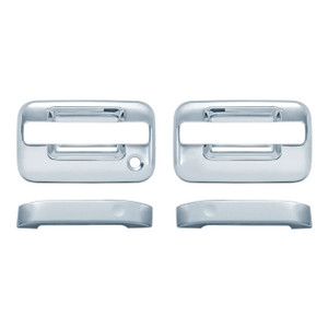Auto Reflections   Door Handle Covers and Trim   04-14 Ford F-150   11105NK-f-150-Chrome-Door-Handle-Covers