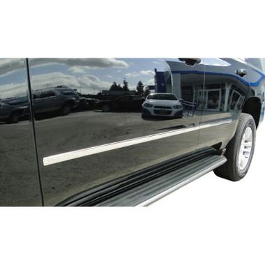 Auto Reflections   Side Molding and Rocker Panels   15 GMC Yukon XL   CMT0154