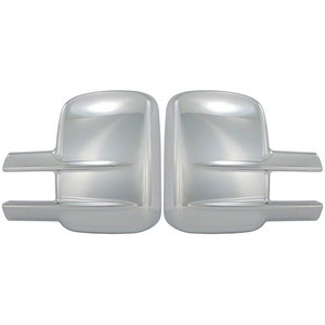 Auto Reflections | Mirror Covers | 99-14 GMC Sierra HD | CCIMC67502-Sierra-2500-mirror-covers