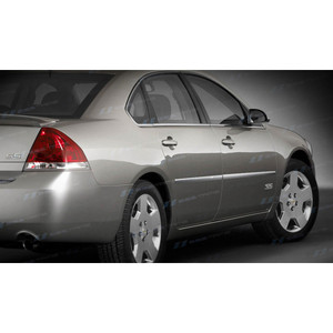 SES | Side Molding and Rocker Panels | 06-12 Chevrolet Impala | CM113-Impala-Body-Moldings