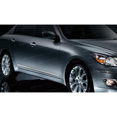 SES   Side Molding and Rocker Panels   09-13 Hyundai Genesis   CM151-Genesis-Body-Moldings