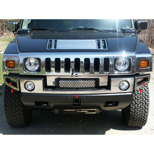 Luxury FX | Bumper Covers and Trim | 03-09 Hummer H2 | LUXFX0278