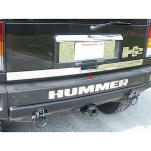 Luxury FX | Rear Accent Trim | 03-09 Hummer H2 | LUXFX0281