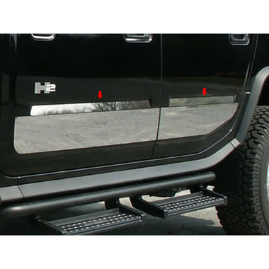 Luxury FX | Side Molding and Rocker Panels | 03-09 Hummer H2 | LUXFX0284