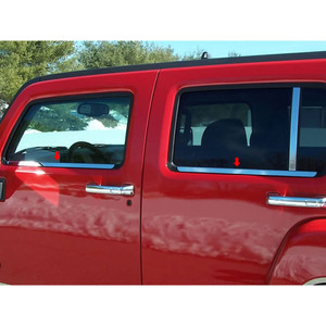 Luxury FX | Window Trim | 06-09 Hummer H3 | LUXFX0301