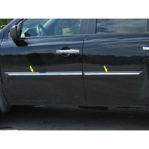 Luxury FX | Side Molding And Rocker Panels | 09 14 Honda Pilot | LUXFX0475