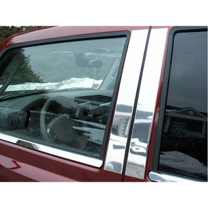 Luxury FX | Pillar Post Covers and Trim | 06-10 Jeep Commander | LUXFX0824