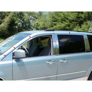 Luxury FX | Window Trim | 08-14 Chrysler Town & Country | LUXFX1510