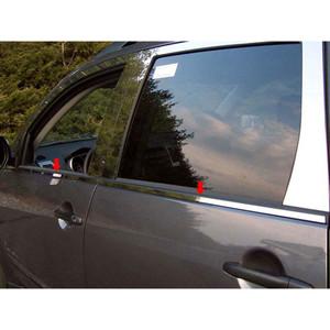 Luxury FX   Window Trim   07-09 Mitsubishi Outlander   LUXFX1634