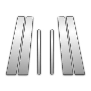 Auto Reflections | Pillar Post Covers and Trim | 09-13 Acura TL | P0966-Chrome-Pillar-Posts