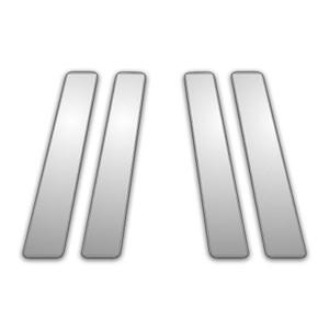 Auto Reflections | Pillar Post Covers and Trim | 08-13 Infiniti EX | P3731-Chrome-Pillar-Posts