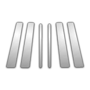 Auto Reflections | Pillar Post Covers and Trim | 05-13 Land Rover Range Rover Sport | P3947-Chrome-Pillar-Posts