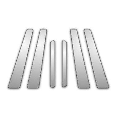 Auto Reflections | Pillar Post Covers and Trim | 11-13 Volvo S Series | P8022-Chrome-Pillar-Posts