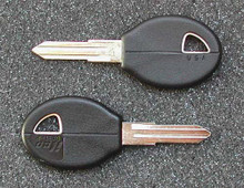 1982-1990 Subaru DL, GL & Std Key Blanks