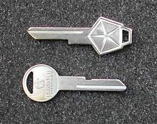 1973-1976 Plymouth Valiant Key Blanks