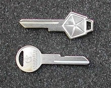1977 - 1989 Chrysler Lebaron Key Blanks