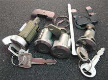 1970-1972 Mercury Meteor Ignition, Door and Trunk Locks