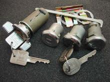 1970 Pontiac Firebird Ignition, Door and Trunk Locks