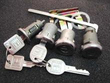 1966-1967 Pontiac LeMans Ignition, Door and Trunk Locks