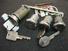 1969-1970 Pontiac Bonneville Ignition, Door and Trunk Locks