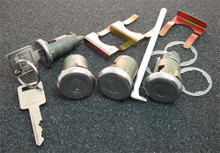 1966-1967 Chevrolet Biscayne Ignition, Door and Trunk Locks