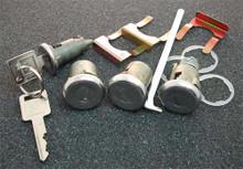 1966-1967 Chevrolet Bel Air Ignition, Door and Trunk Locks