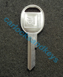 OEM GM Buick Cadillac Chevrolet Oldsmobile Pontiac 'K' Key Cut To Your Key Code