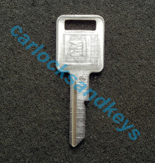 OEM GM Buick Cadillac Chevrolet Oldsmobile Pontiac 'C' Key Cut To Your Key Code