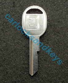 OEM GM Buick Cadillac Chevrolet Oldsmobile Pontiac 'D' Key Cut To Your Key Code