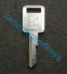 OEM GM Buick Cadillac Chevrolet Oldsmobile Pontiac 'E' Key Cut To Your Key Code