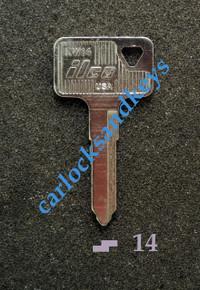 2005 Suzuki Boulevard M95 VZ1600 Key Blanks