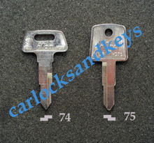 2009-2013 Honda Big Red ATV 4 Wheeler Key Blanks