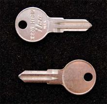 2003-2007 Suzuki V-Strom Motorcycle Luggage Key Blanks