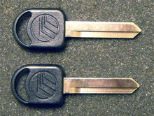 1993-1995 Mercury Sable GS and LS Mercury Logo Key Blanks