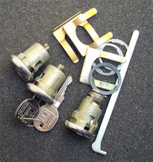 1967-1968 Pontiac Firebird Door and Trunk Locks