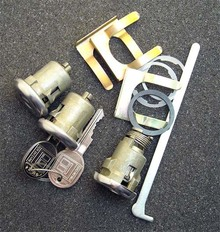 1978-1979 Cadillac Seville Door and Trunk Locks