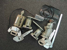 1978-1980 Mercury Zephyr Ignition, Door and Trunk Locks