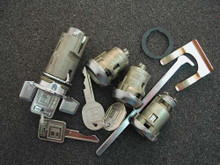1985-1987 Cadillac Deville Ignition, Door and Trunk Locks