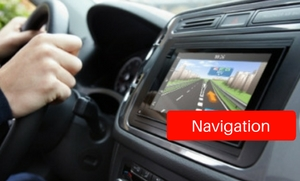 Navigation units at Stereo West Autotoys