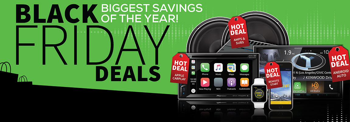 Black Friday Deals at Stereo West Autotoys
