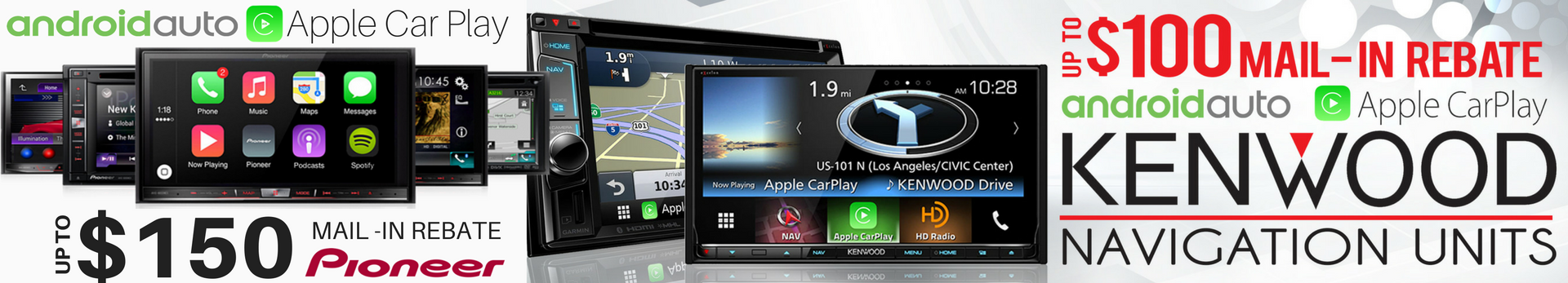 Apple Car Play and Android Auto at Stereo West Autotoys