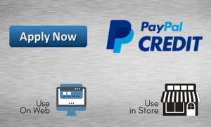 Use PayPal Credit at Stereo West Autotoys