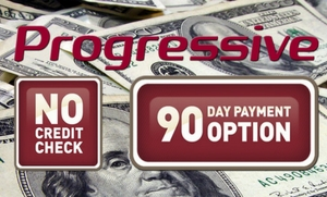 No Credit Check payment options with Progressive