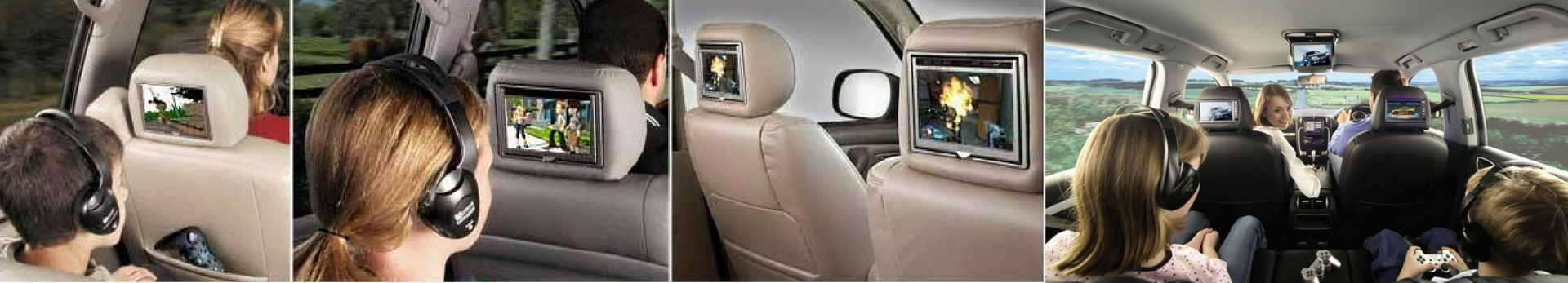 In Car Rear Seat Entertainment options at Stereo West Autotoys 402-393-2100