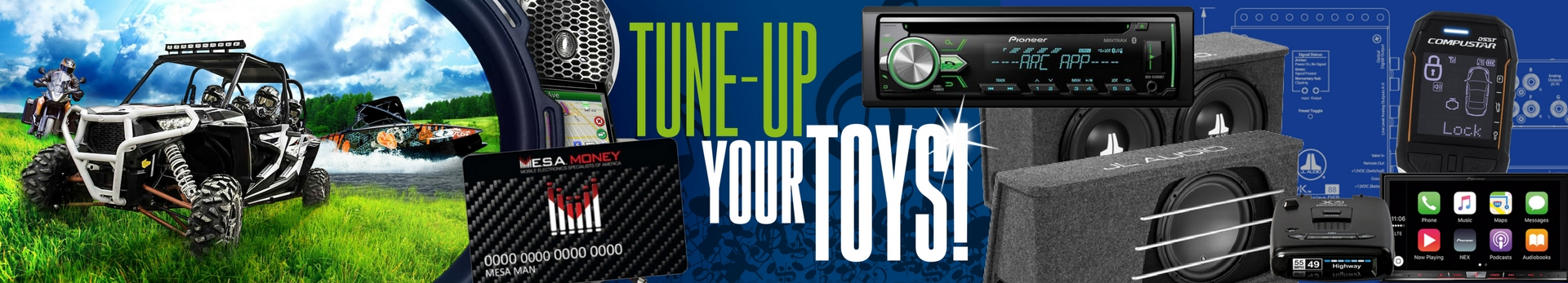 Tune Up Your Toys at Stereo West Autotoys