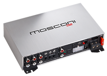 MOSCONI D2 80.6 DSP - mini 6 channel class D amplifier: 6x80W with built in 6T08 DSP