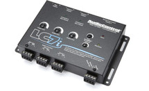 AudioControl LC7i 6-channel line output converter with bass restoration — adds aftermarket subs and amps to a factory system (Black)
